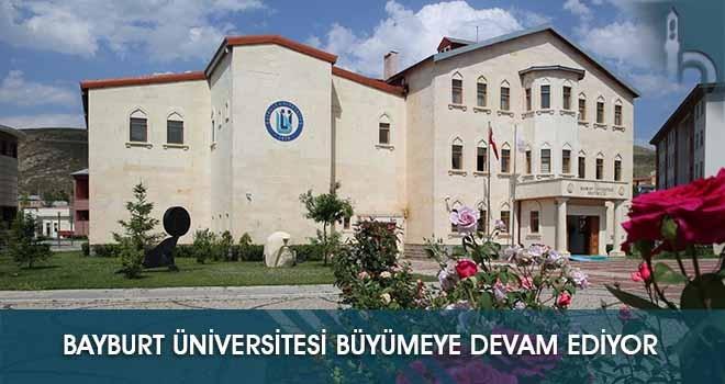 Bayburt Üniversitesi Yeni Bölüm ve Programlarla Büyümeye Devam Ediyor