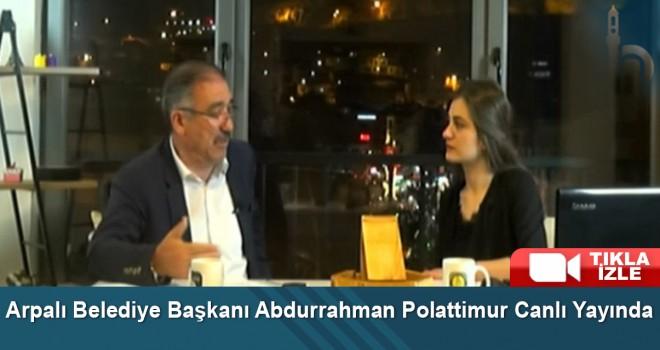 Arpalı Belediye Başkanı Abdurrahman Polattimur Canlı Yayında