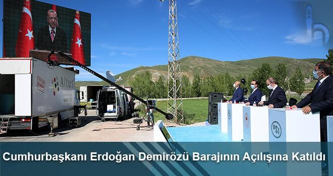 Cumhurbaşkanı Erdoğan Demirözü Barajının Açılışına Katıldı