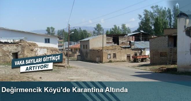 Değirmencik Köyü'de Karantina Altında