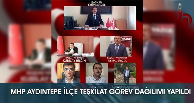 Aydıntepe MHP İlçe Teşkilat Görev Dağılımı Yapıldı