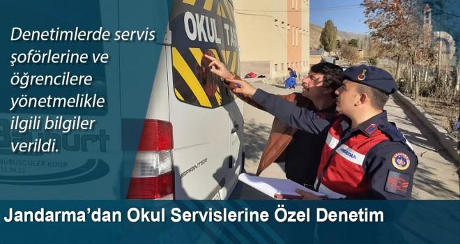 Jandarma'dan okul servislerine özel denetim