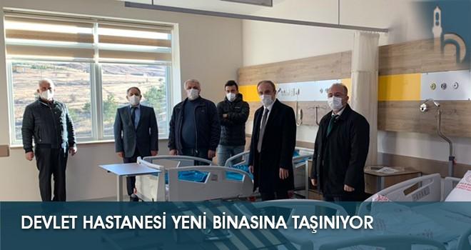 Devlet Hastanesi Yeni Binasına Taşınıyor