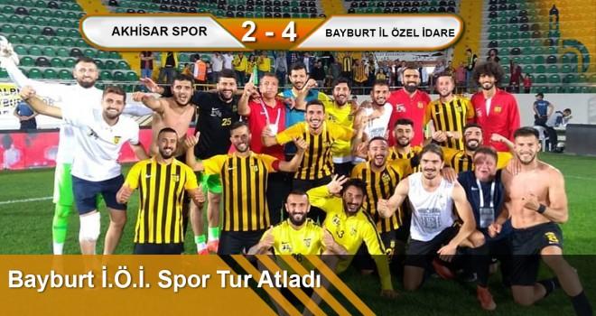 Bayburt İ.Ö.İ Spor Ziraat Türkiye Kupasında Tur Atladı