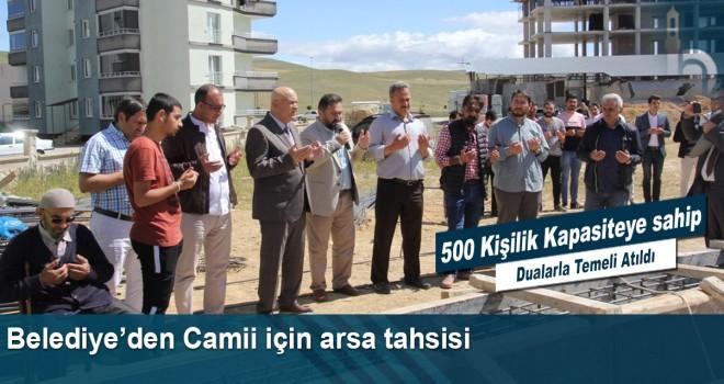 Belediyeden Camii İçin Arsa Tahsisi