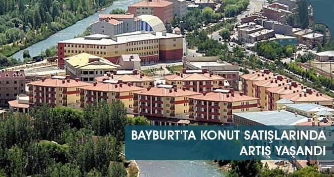 Bayburt'ta Konut Satışlarında Artış Yaşandı