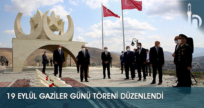 19 Eylül Gaziler Günü Töreni Düzenlendi