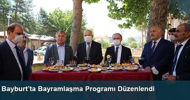 Bayburt'ta Bayramlaşma Programı Düzenlendi
