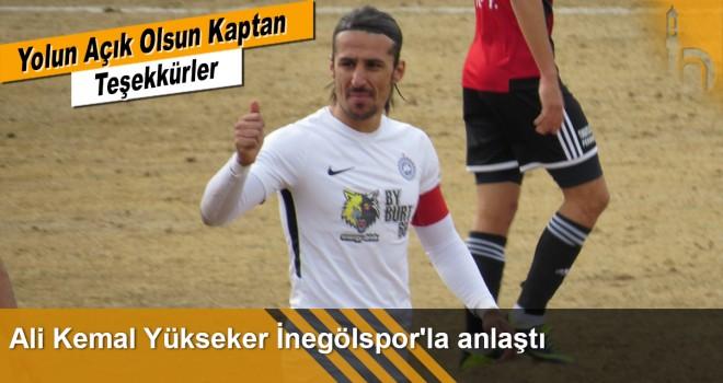 Ali Kemal Yükseker İnegölspor 'da