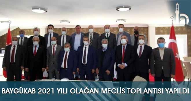 BAYGÜKAB 2021 Yılı Olağan Meclis Toplantısı Yapıldı