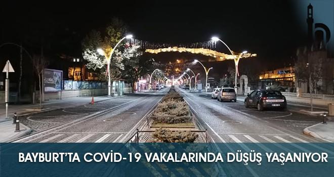 Bayburt'ta Covid-19 Vakalarında Düşüş Yaşanıyor