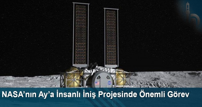 NASA'nın Ay'a İnsanlı İniş Projesinde Önemli Görev