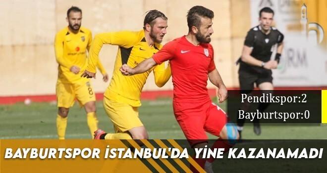 Bayburtspor İstanbul'da Yine Kazanamadı