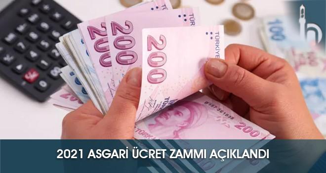 2021 Asgari Ücret Zammı Açıklandı