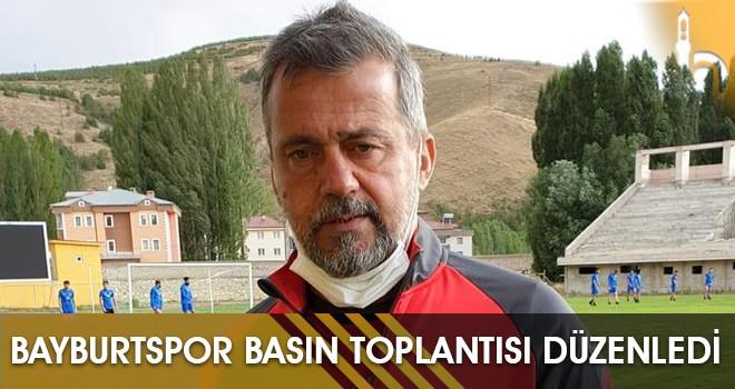 BayburtSpor Basın Toplantısı Düzenledi