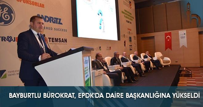 Bayburtlu Bürokrat, EPDK'da Daire Başkanlığına Yükseldi