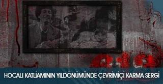 Hocalı Katliamının Yıldönümünde Çevrimiçi Karma Sergi