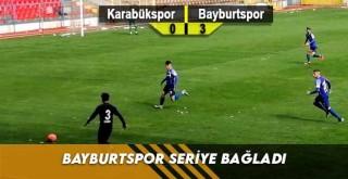 Bayburtspor Seriye Bağladı