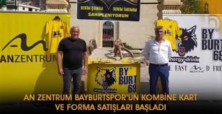 An Zentrum Bayburtspor'un Kombine Kart ve Forma Satışları Başladı