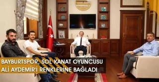 Bayburtspor, Sol Kanat Oyuncusu Ali Aydemir'i Renklerine Bağladı