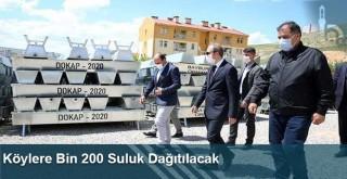 Köylere Bin 200 Suluk Dağıtılacak