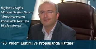 """""""73. Verem Eğitimi ve Propaganda Haftası"""""""