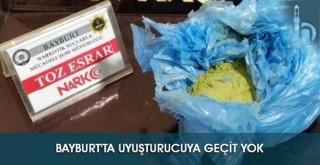 Bayburt'ta Uyuşturucuya Geçit Yok