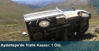 Aydıntepe'de Trafik Kazası: 1 Ölü
