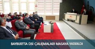 Bayburt'ta DSİ Çalışmaları Masaya Yatırıldı