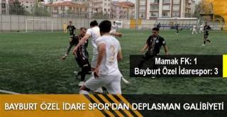 Bayburt Özel İdarespor'dan Deplasman Galibiyeti!