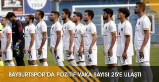 Bayburtspor'da Pozitif Vaka Sayısı 25'e Ulaştı