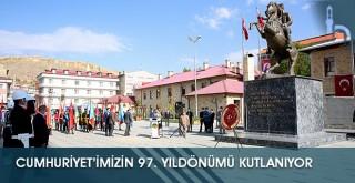 Cumhuriyet'imizin 97. Yıldönümü Kutlanıyor