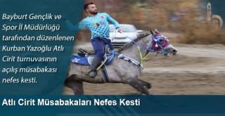 Atlı Cirit Müsabakaları Nefes Kesti