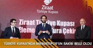 Türkiye Kupası'nda Bayburtspor'un Rakibi Belli Oldu