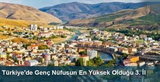 Türkiye'de Genç Nüfusun En Yüksek Olduğu 3. İl