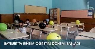 Bayburt'ta Eğitim-Öğretim Dönemi Başladı