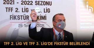 TFF 2. Lig ve TFF 3. Lig'de Fikstür Belirlendi