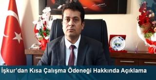 İşkur'dan Kısa Çalışma Ödeneği Hakkında Açıklama
