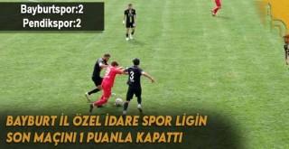 Bayburt İl Özel İdare Spor Ligin Son Maçını 1 Puanla Kapattı