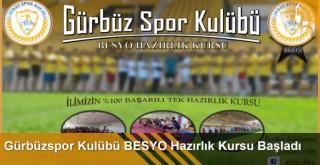 Gürbüzspor Kulübü BESYO Hazırlık Kursu Başladı