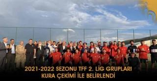 2021-2022 Sezonu TFF 2. Lig Grupları Kura Çekimi İle Belirlendi