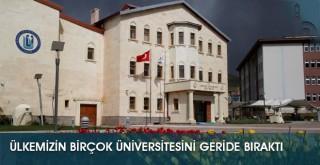 Bayburt Üniversitesi, Ülkemizin Birçok Üniversitesini Geride Bıraktı